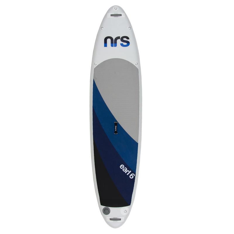 Surf à pagaie gonflable Earl 6 Blanc/Bleu foncé