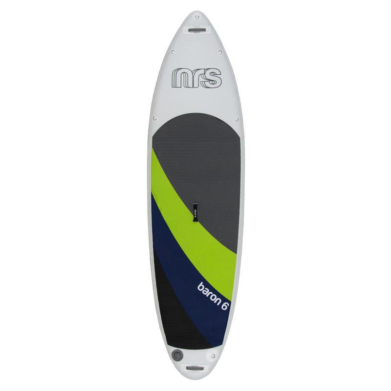 Surf à pagaie gonflable Baron 6 Blanc/Vert