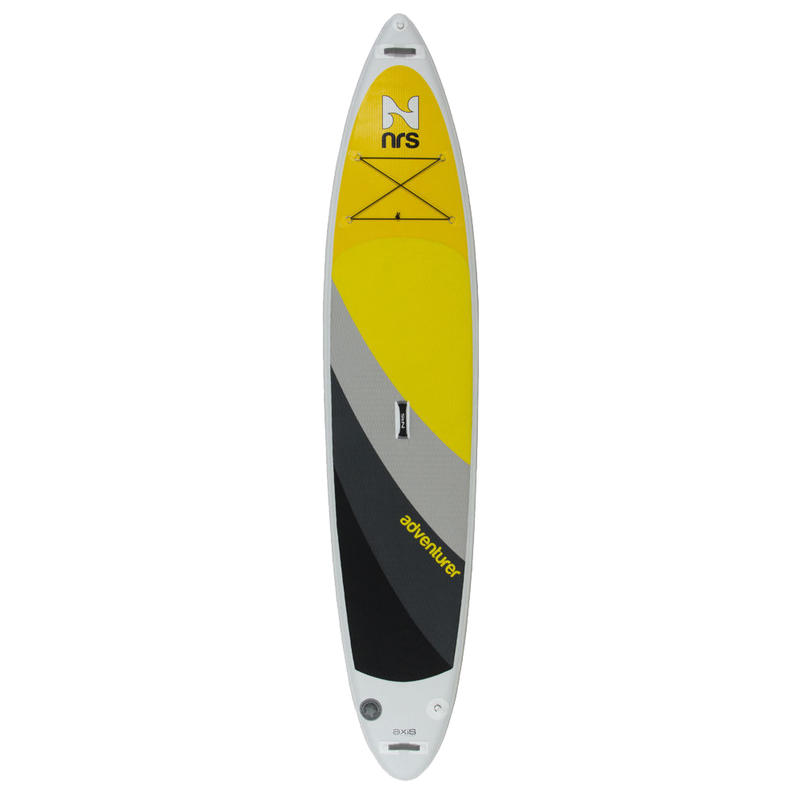 Adventurer Inflatable SUP White/Yellow