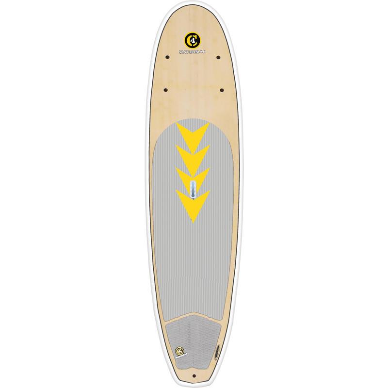 Surf à pagaie Da Beachboy 10 pi 6 po Bambou/Blanc
