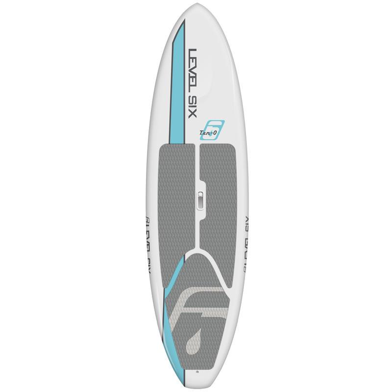 Surf à pagaie Ten-O Eau de mer/Blanc