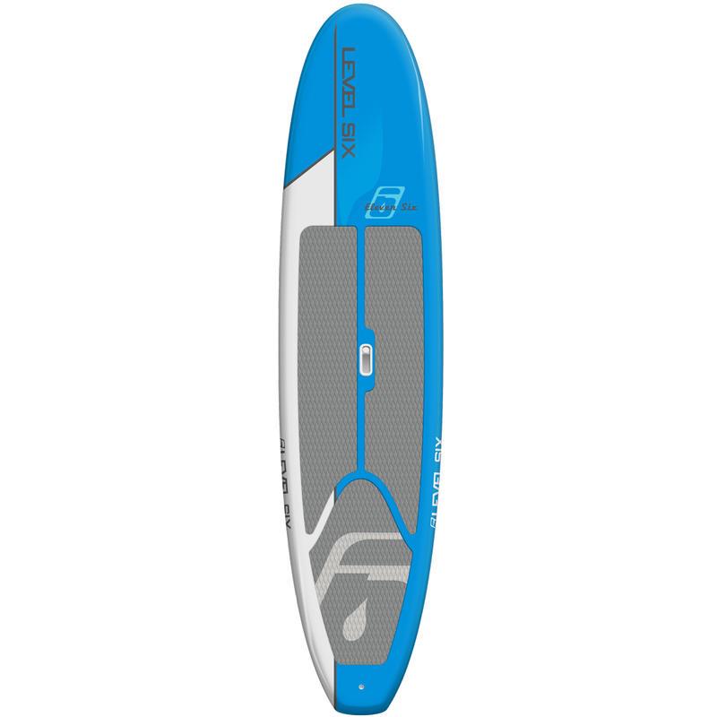Surf à pagaie Eleven-Six Cyan/Blanc