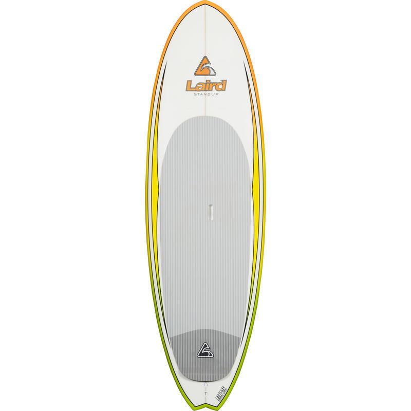 Surf à pagaie Fire Fish 8 pi Jaune orange blanc