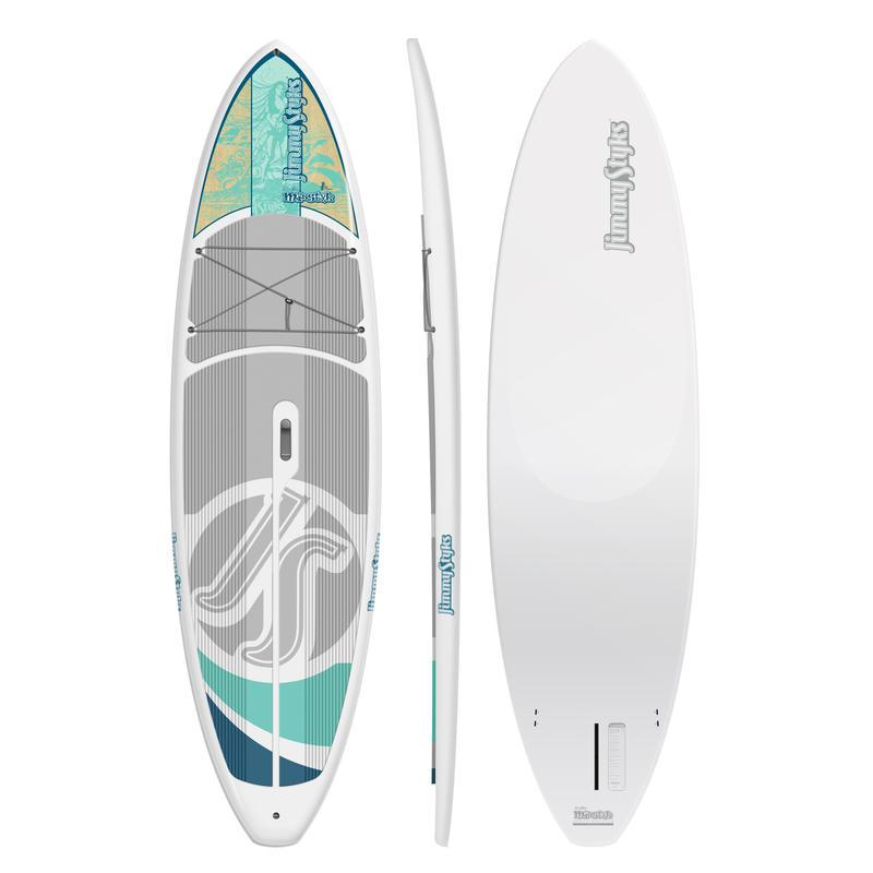 Surf à pagaie Misstyk Blanc/Aqua