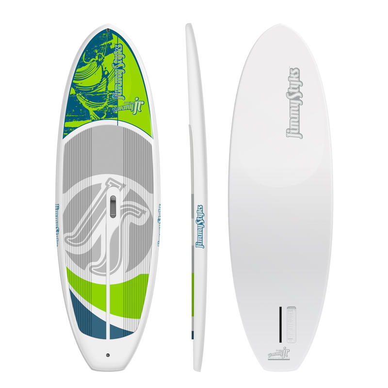 Jimmy Jr Stand Up Paddleboard White/Lime