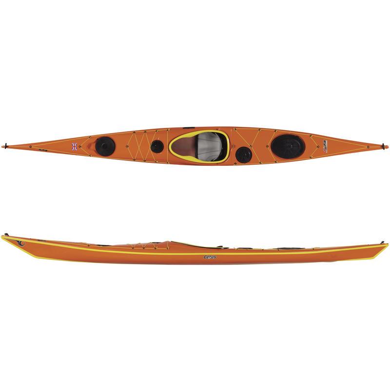 Kayak de mer Cetus 176 en Kevlar/carbone Couleur sur commande