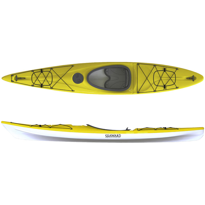 Kayak Halo SR 130 Jaune