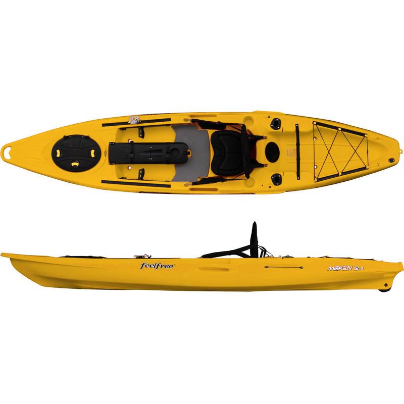 Kayak Moken 12.5 Jaune