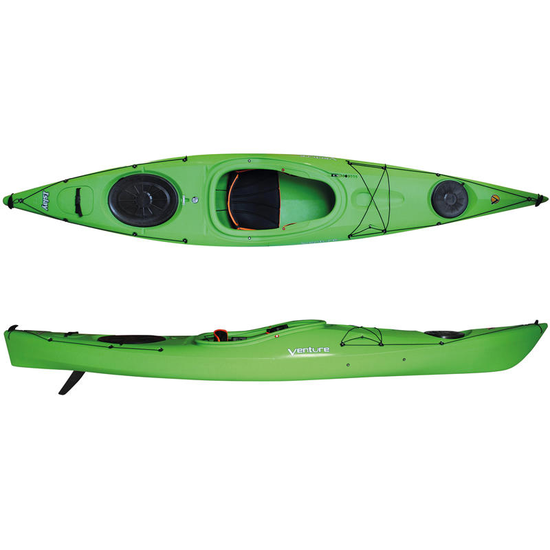 Islay 12 LV Kayak with Skeg Green