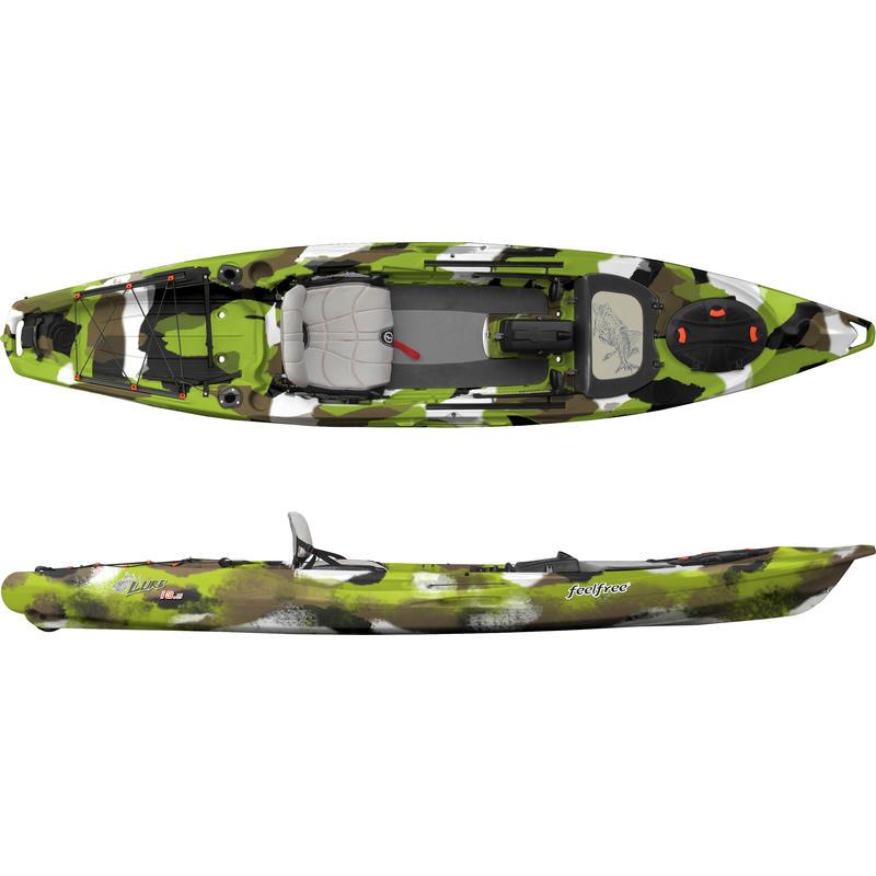 Kayak Lure 13.5 Camouflage lime