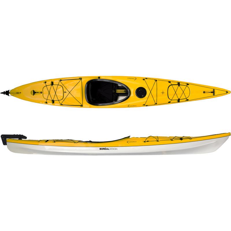 Kayak Compass SR140 Jaune