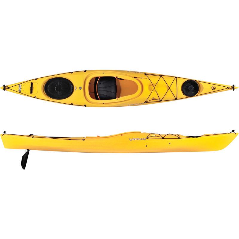 Kayak Islay 12 LV avec dérive Jaune