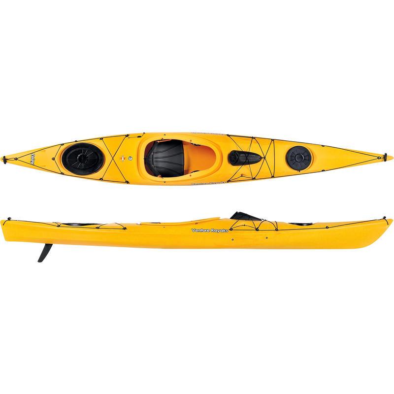 Kayak Islay 14 avec dérive Jaune