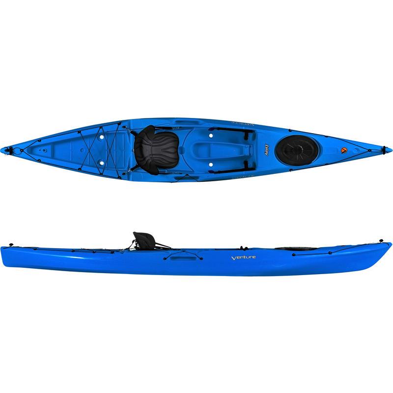 Kayak Islay 14 SOT avec dérive Bleu