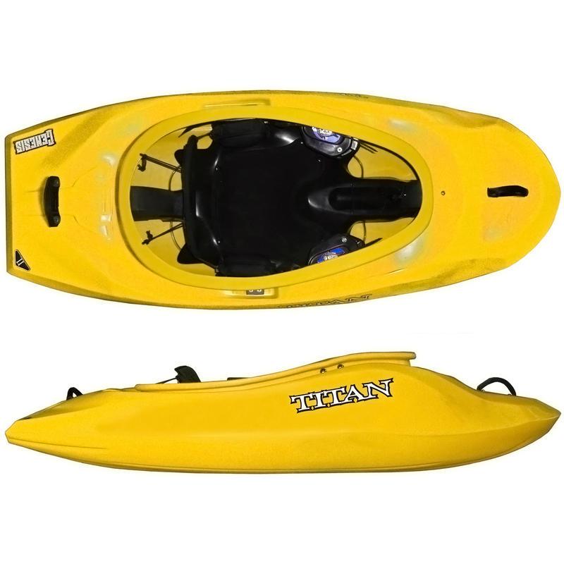 Kayak Genesis V2 Jaune
