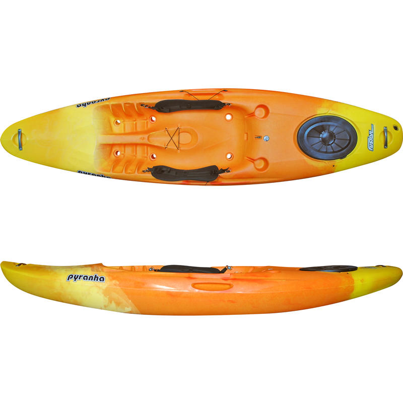 Kayak autovideur Fusion Jaune/Jaffa
