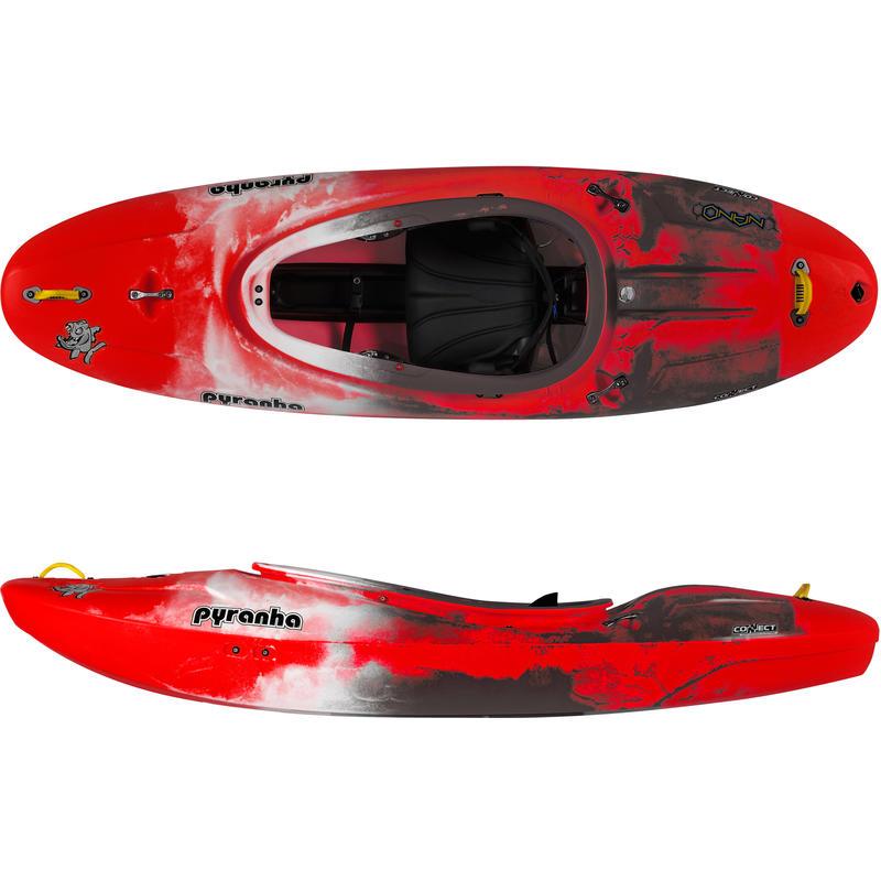 Kayak Nano C4S Rouge/Blanc