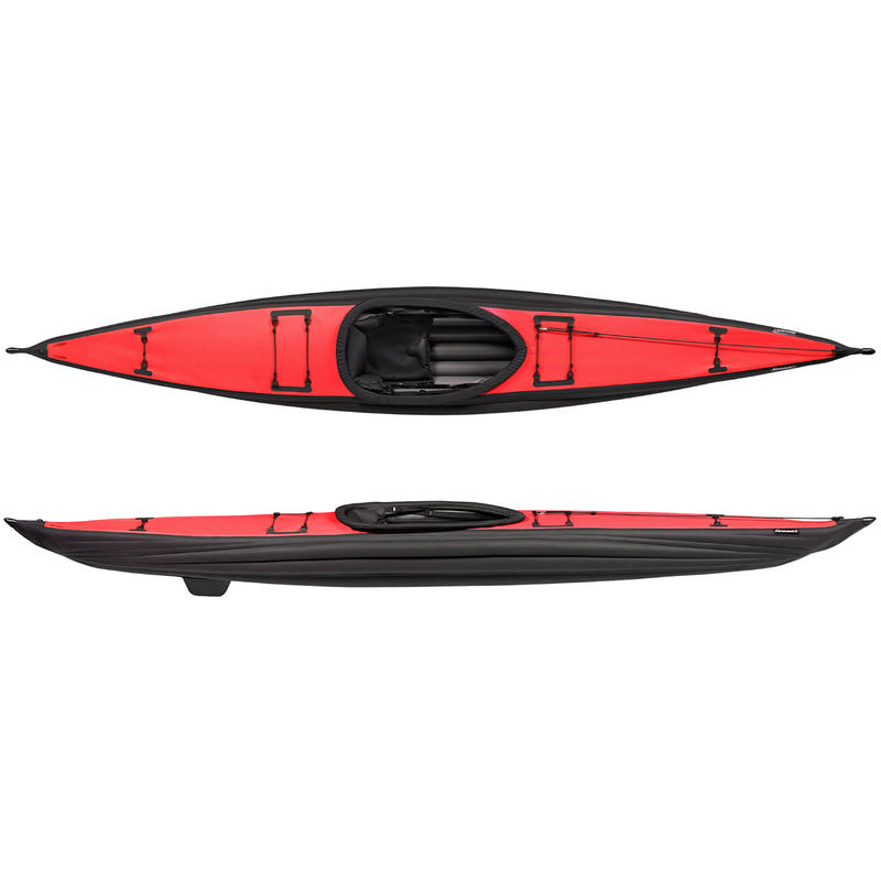 Kayak gonflable Aironaut Rouge