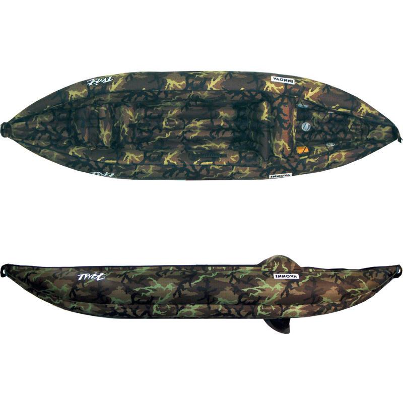 Kayak gonflable Twist I avec pompe Camouflage