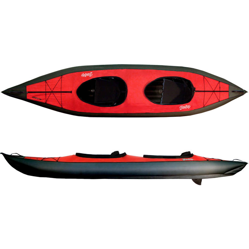 2015 Swing II Inflatable Kayak (w/pump) Red/Black