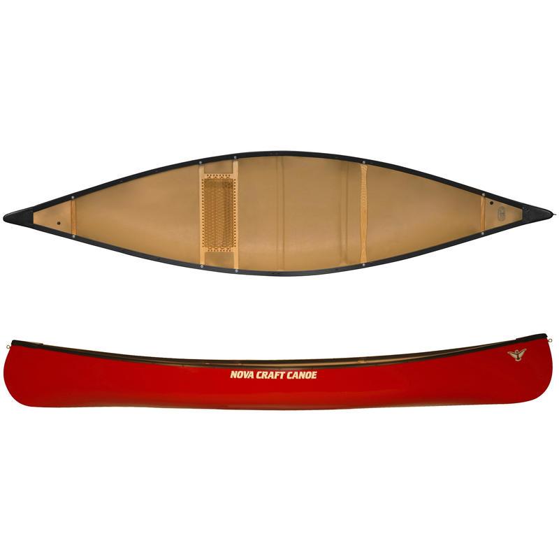 Canot Trapper en Royalex Lite/aluminium Rouge