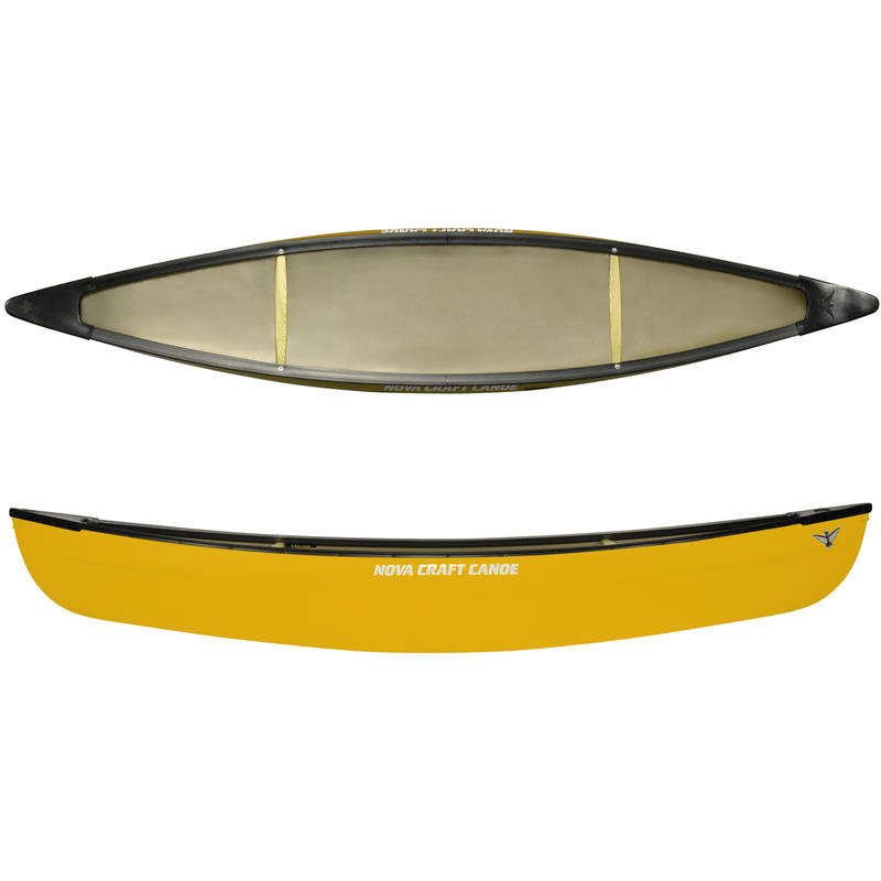 Outfitted Ocoee Royalex Plus/Vinyl Canoe Yellow