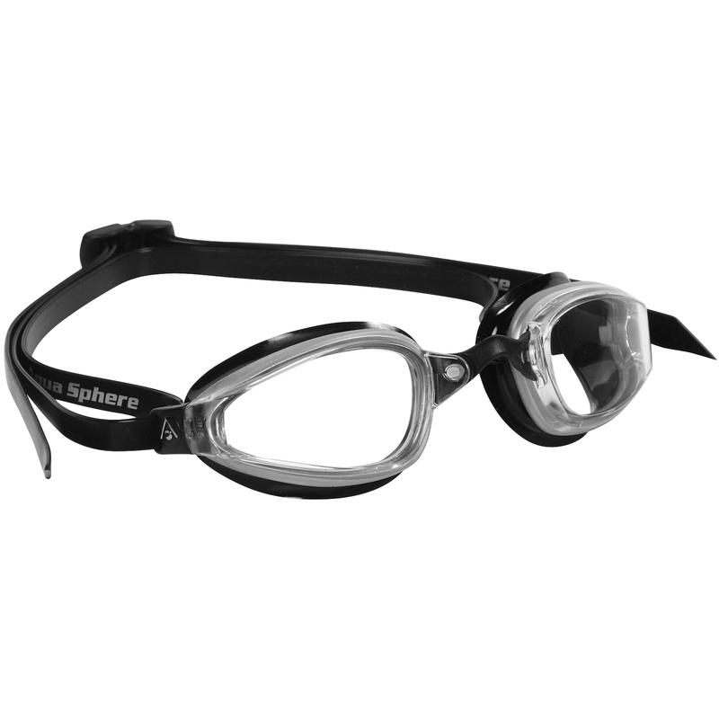 K180 Goggles Clear/Silver