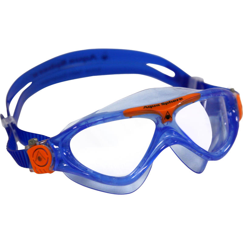 Lunettes de natation Vista Jr Bleu/Transparent