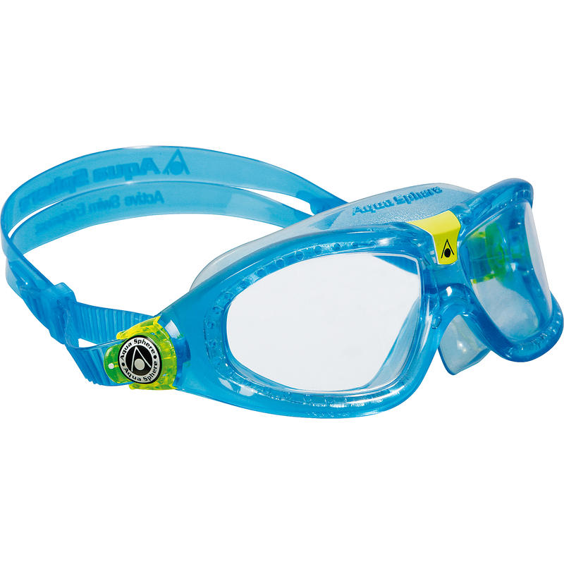 Seal Kid 2 Goggles Aqua Lime/Clear