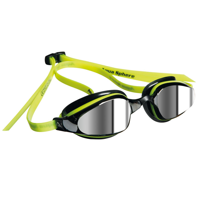 K 180 Mirrored Goggles Yellow