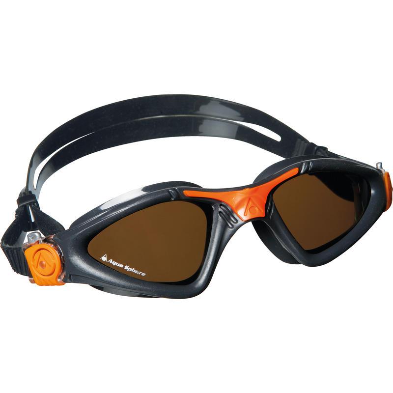 Lunettes de natation polarisées Kayenne Gris/Orange