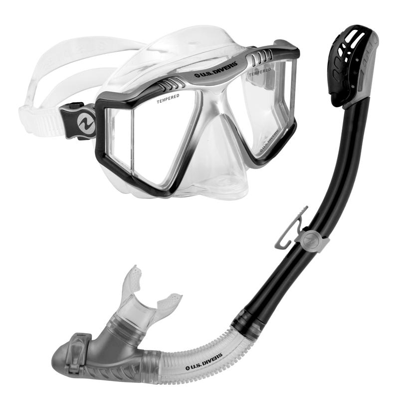 Lux/Phoenix Mask And Snorkel Black