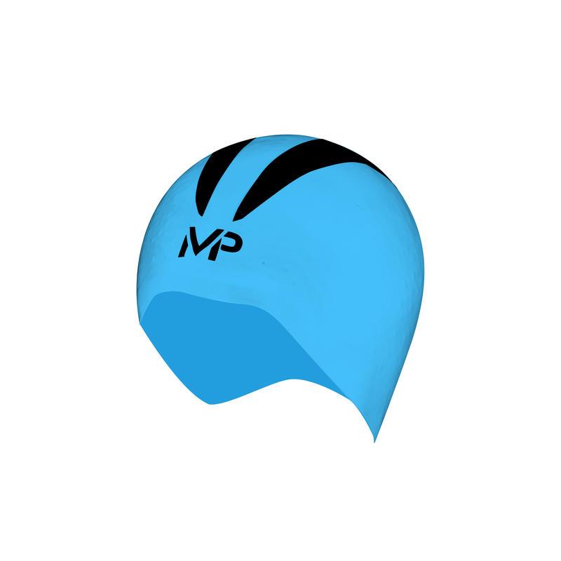 Bonnet de bain X-0 Bleu/Noir