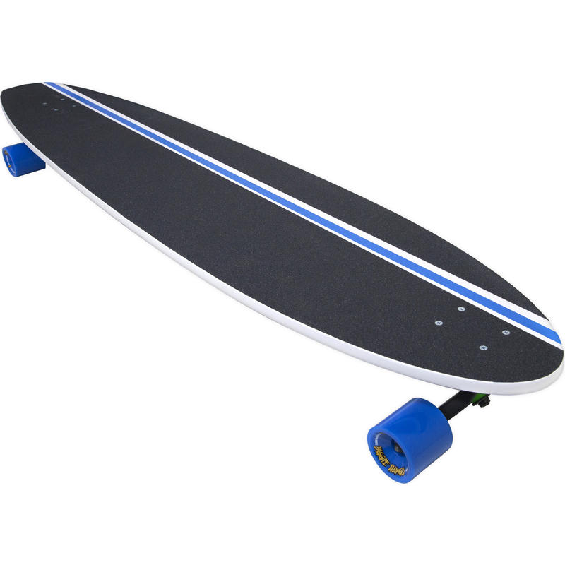Planche longboard B-Ride Surf Blanc/Océan