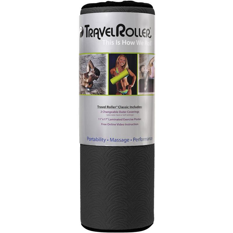 Rouleau thérapeutique Travel Roller Noir