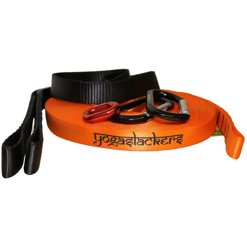 Slackline Yogaslackers E-line de 15 m Orange