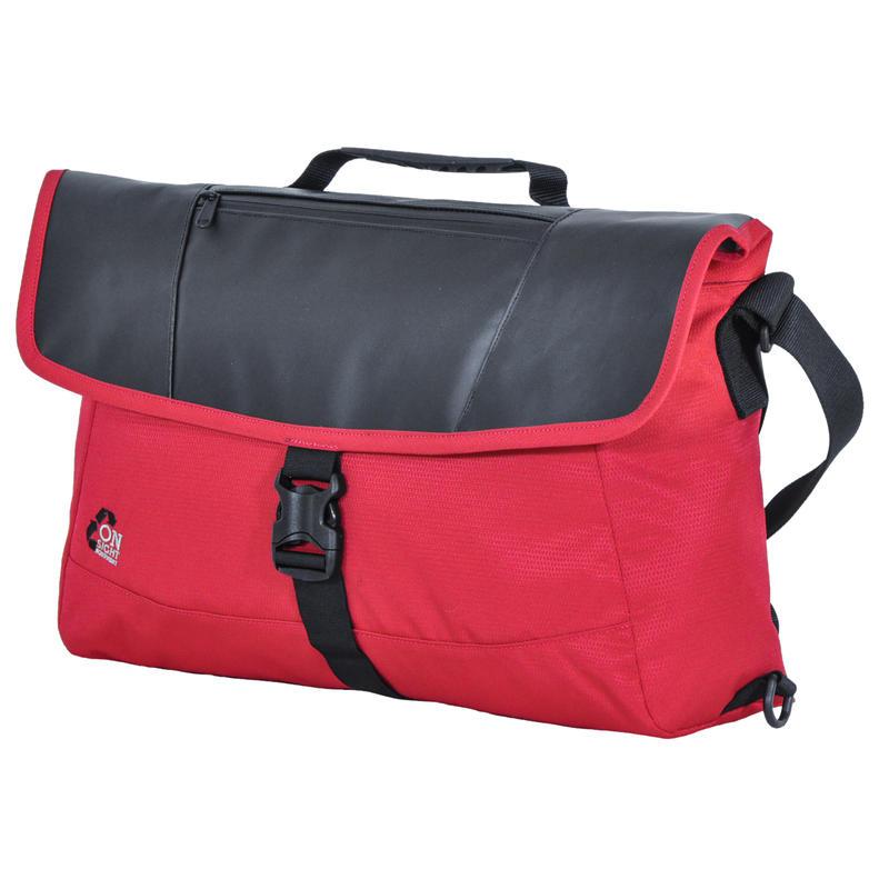 Saigon 3 Messenger Bag Red