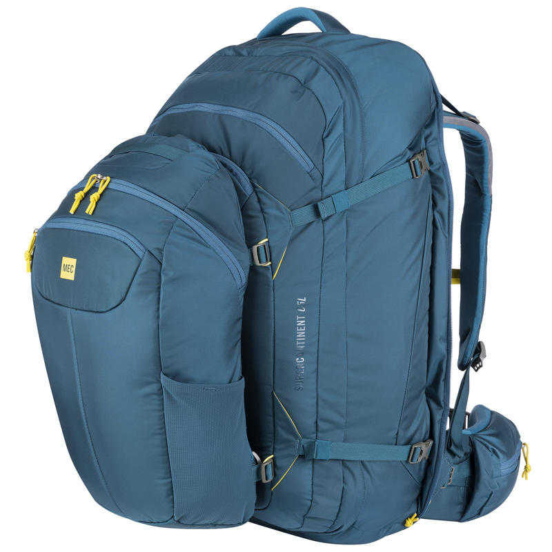 Supercontinent 65 Travel Pack Blue Depth/Blue Suede