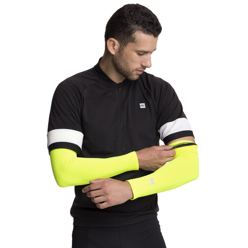 Calefaction Arm Warmers Hi Viz Yellow