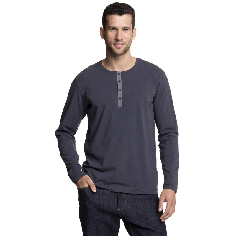 Chandail Johnstown Henley Encre d