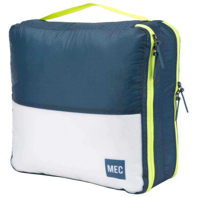 Pochette pour vêtements Travel Light (grande) Suède bleu