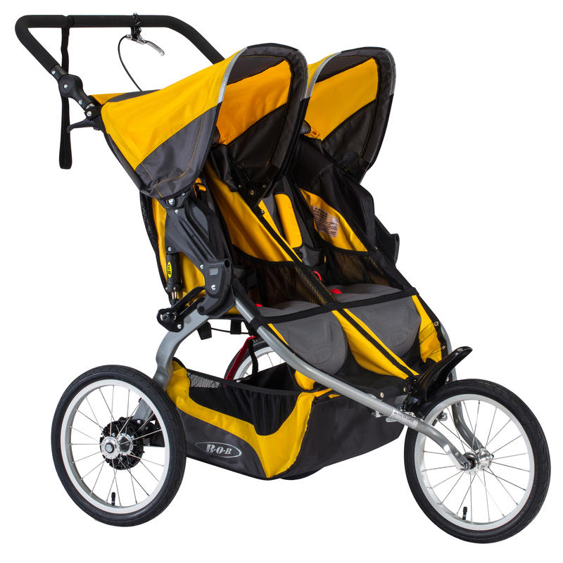 Ironman Duallie Stroller 2016 Yellow
