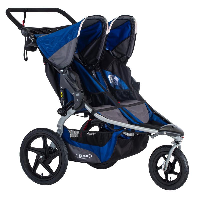 Poussette double Stroller Strides Fitness Bleu