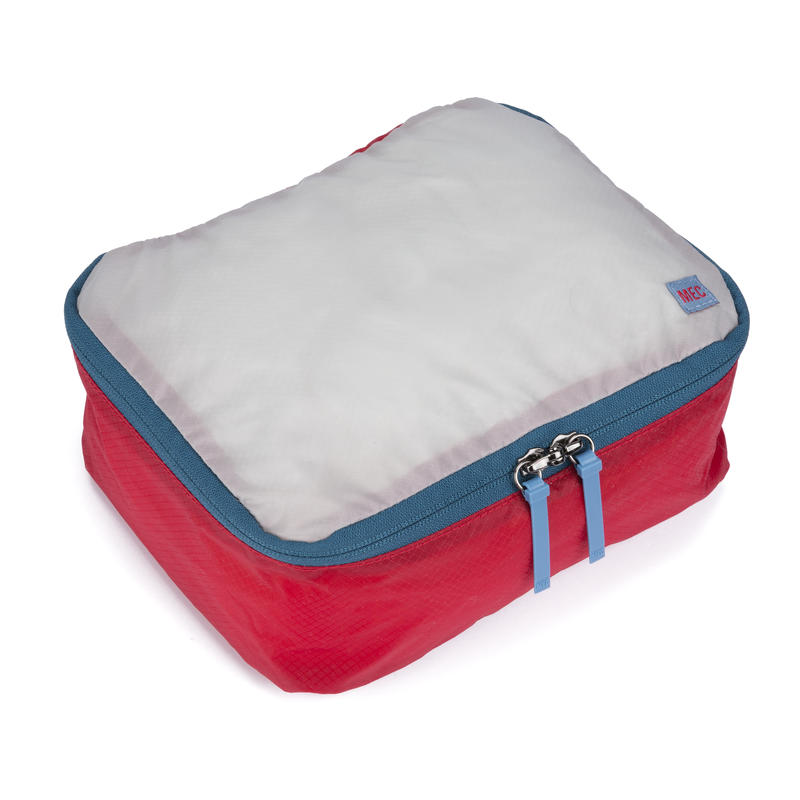 Travel Light Packing Cube Red Pepper