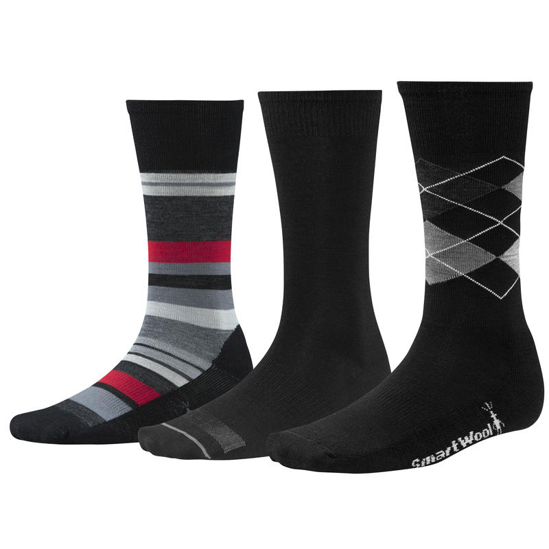 Sock Trio Black