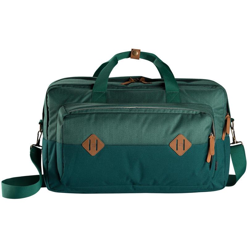 Station Shoulder Bag Kale/Woodland Green
