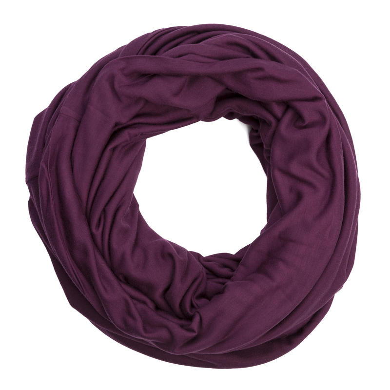 In the Know Infinity Scarf Mulberry