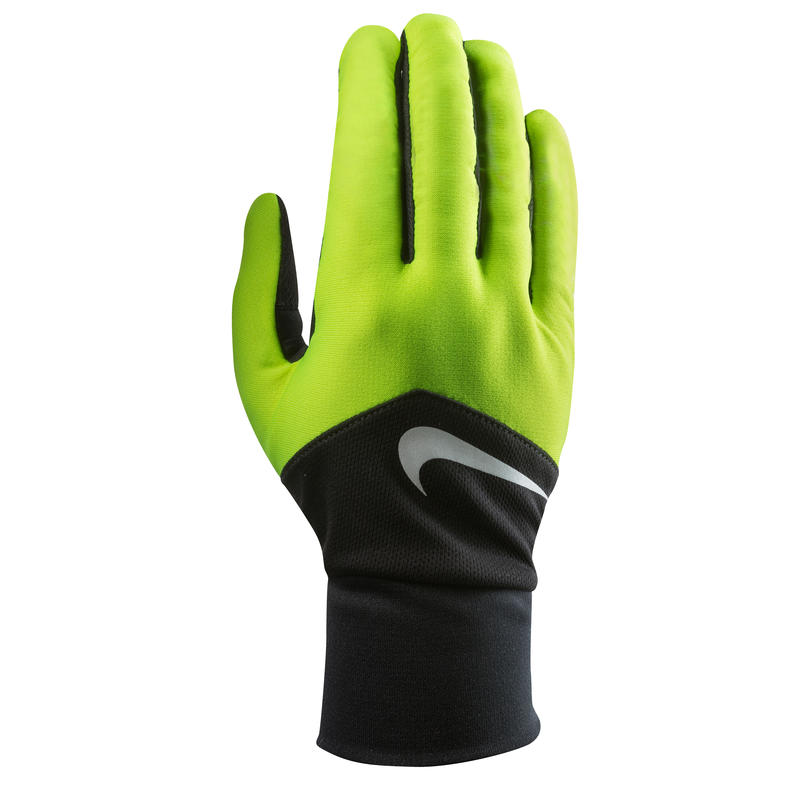 Dri-Fit Tempo Run Gloves Volt/Black