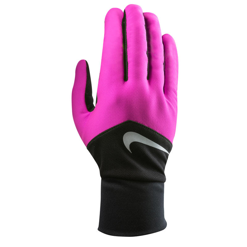 Gants Dri-FIT Tempo Run Hyper rose/Noir