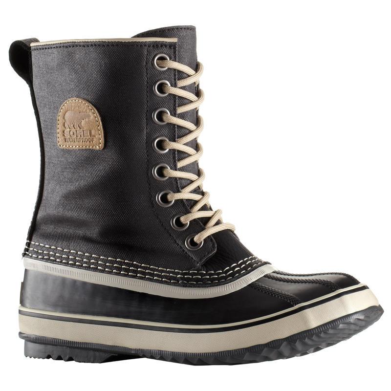 1964 Premium Canvas Winter Boots Black